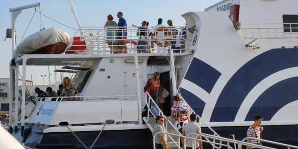 Barco a Formentera