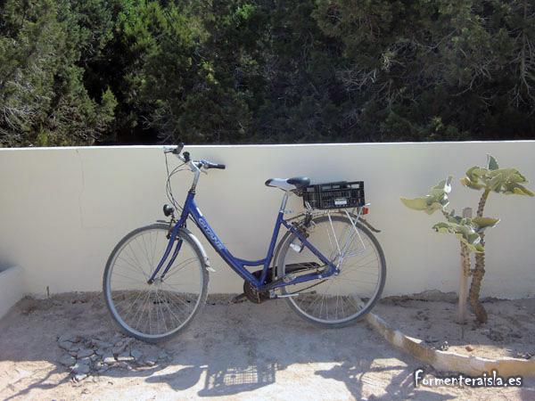 bicicleta alquiler formentera