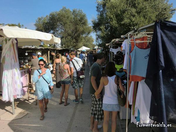 Italianos en Formentera