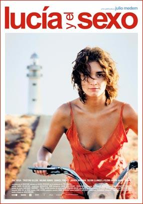 Cartel de la película Lucía y el Sexo.