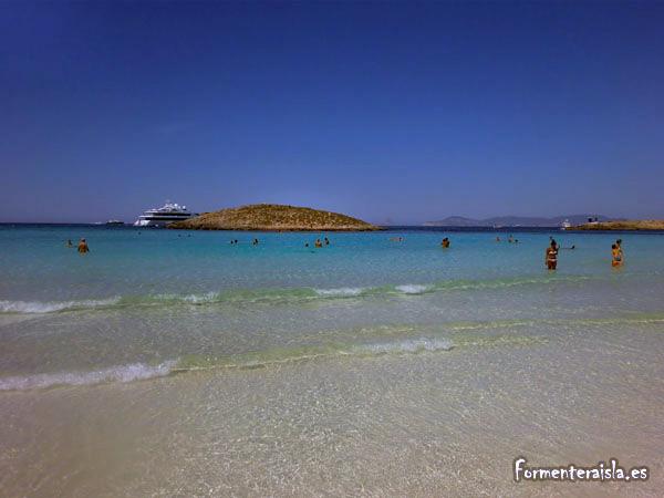 Illetes la mejor playa de Formentera