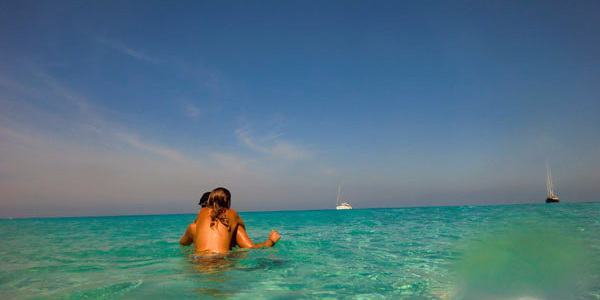 Topless en Formentera