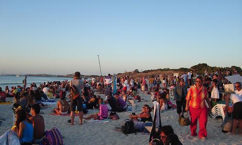 Salir de fiesta en Formentera
