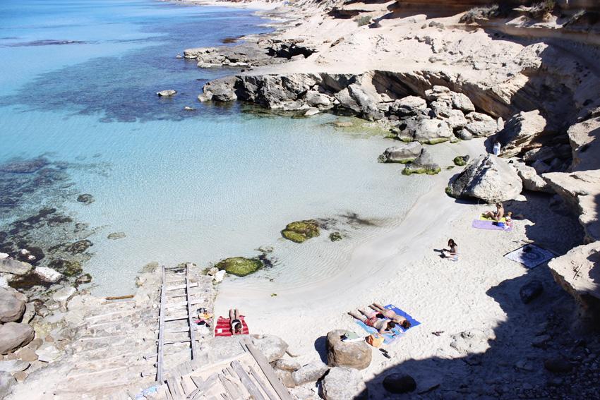 calo des mort en Formentera