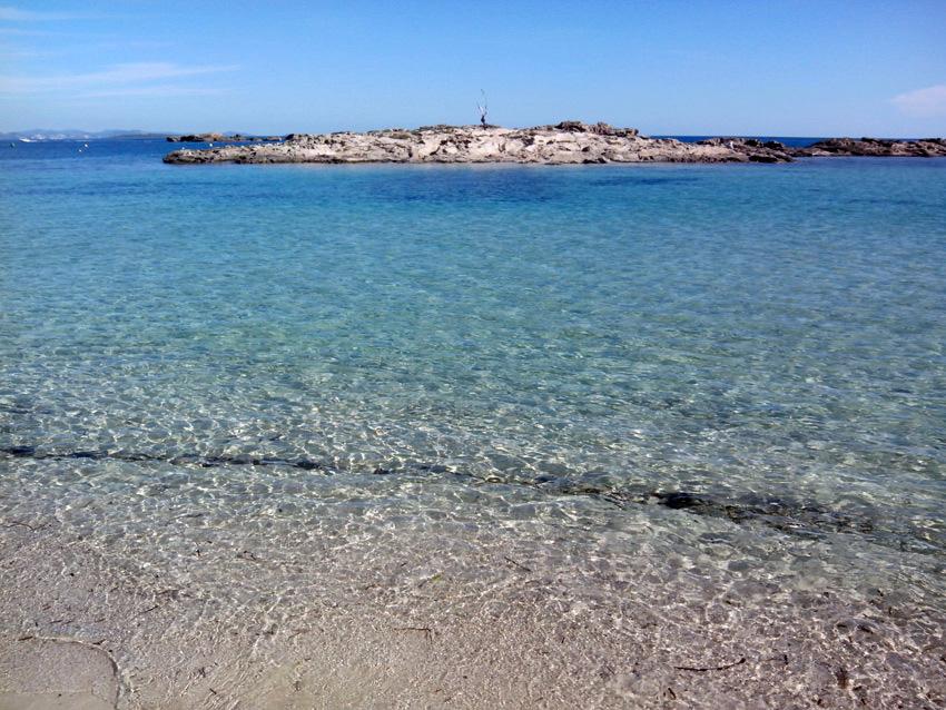 Es Pujols cuenta con una playa de ensueño