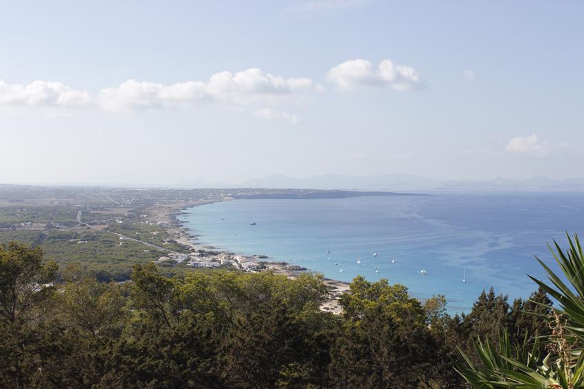 La costa de Es Carnatge, en el norte de Formentera