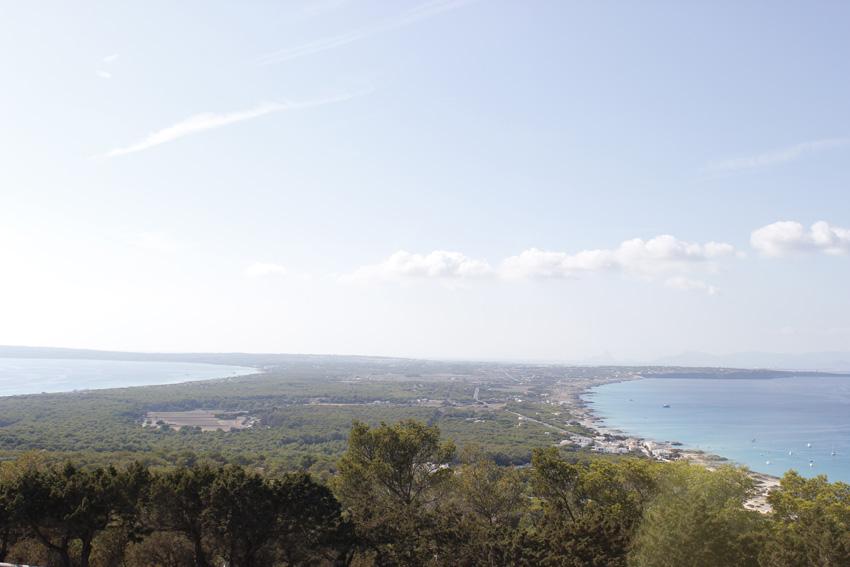 El Mirador de la isla. Fotografía a media tarde.