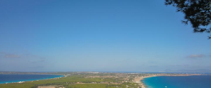 El mirador de Formentera