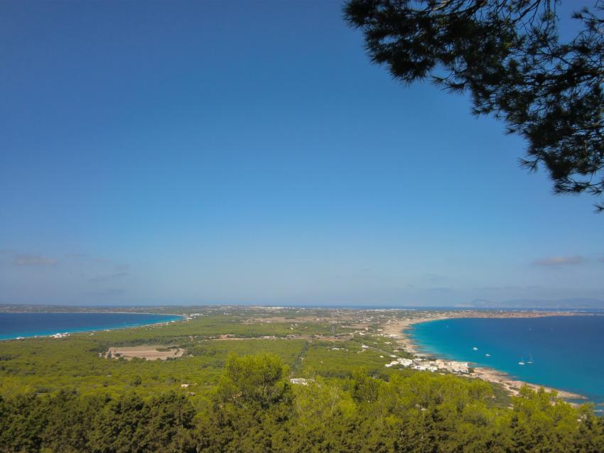 El Mirador de Formentera a primera hora de la mañana.