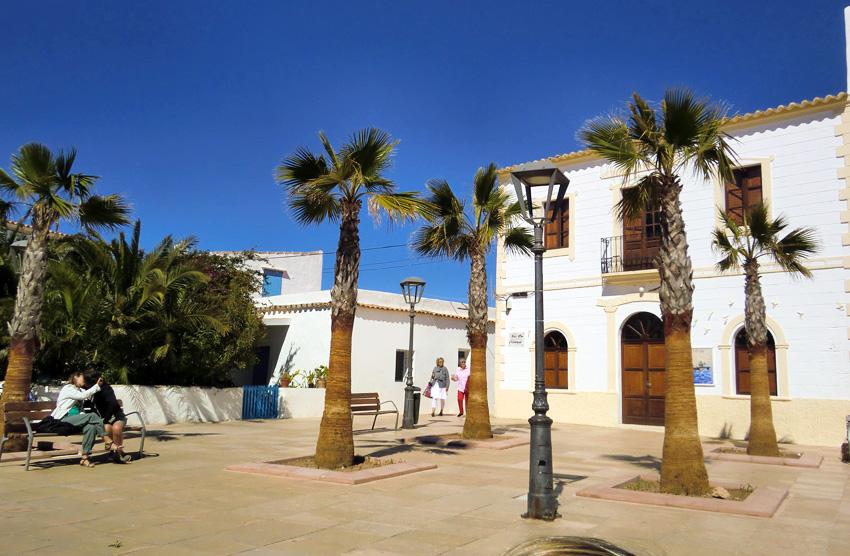 Un edificio de Sant Francesc de Formentera
